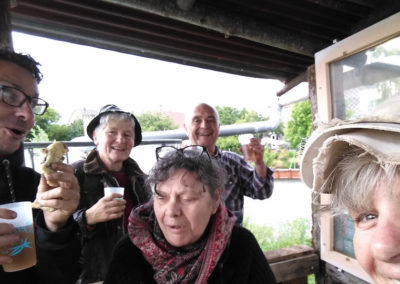 Jardin des cultures - Selfie