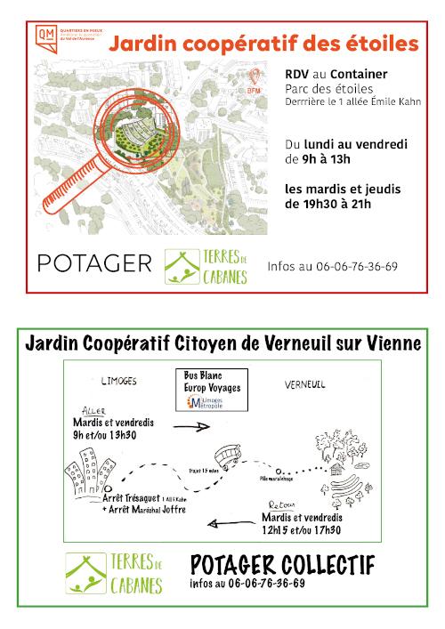 Jardin coopératif des étoiles (Limoges)