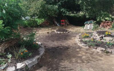 Le Jardin des Communs prend forme… venez participer ou simplement découvrir !